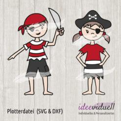 Plotterdatei Piraten ideeviduell