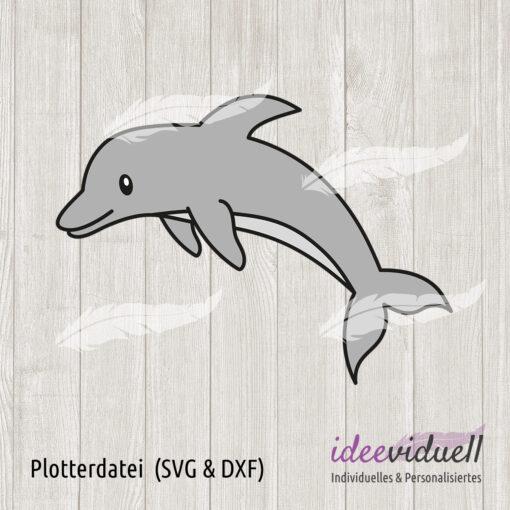 Plotterdatei Delfin ideeviduell