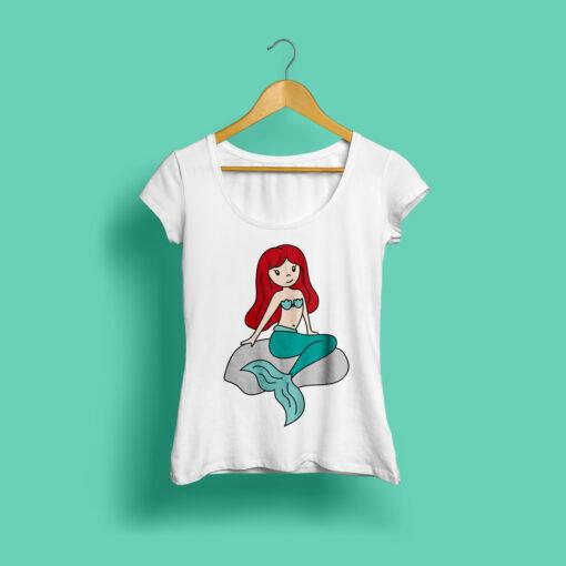 Plotterdatei Meerjungfrau ideeviduell