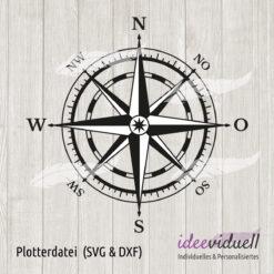 Plotterdatei Kompass ideeviduell